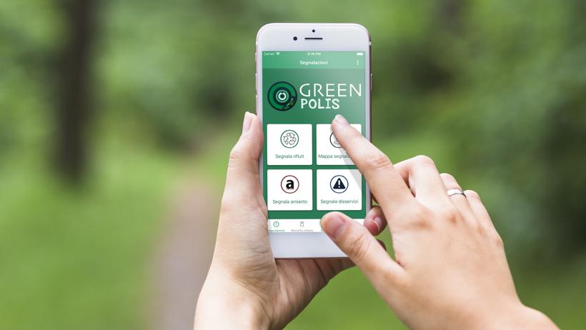 Green polis app il servizio smart per cittadini e for Crea il tuo avatar arreda le tue stanze